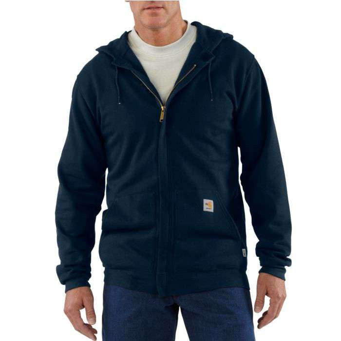 Sweatshirt, FR RAIN DEFENDER® HOODED HEAVYWEIGHT, 13oz, Carhartt, ZIP-FRONT #102908