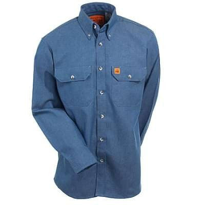 6.5oz FR Cot. Button Shirt