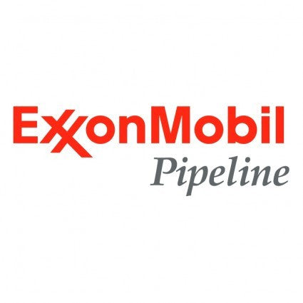 Logo embroidery - Exxon Mobil Pipeline