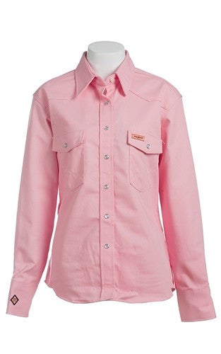 Shirt, Women's FR Cot.  Snap 7 oz