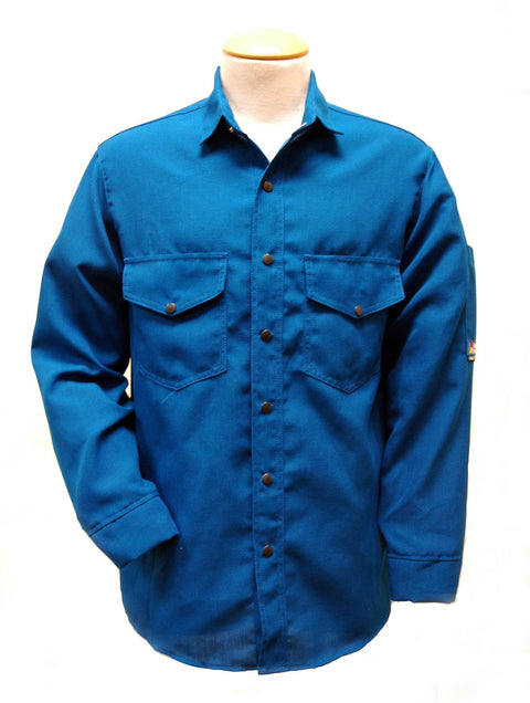 Shirt, Deluxe, Nomex 4.5 oz Snap Front