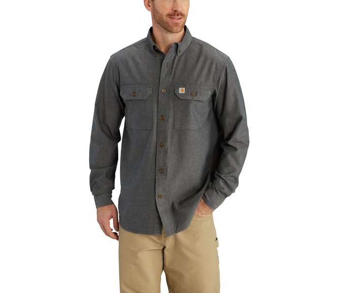 SHIRT, NonFR FORT LONG SLEEVE CHAMBRAY