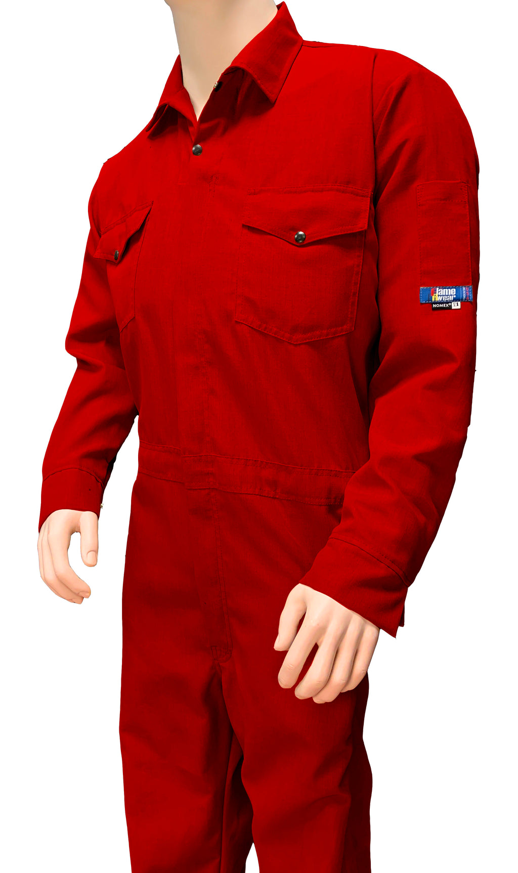 Coverall, Deluxe, Nomex 6 oz - Special Colors