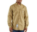 Shirt, FR Twill, 7oz Carhartt,  Pocket Flap FRS160