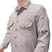 Shirt, FR cotton nylon 7 oz. FlameRwear Snaps front #