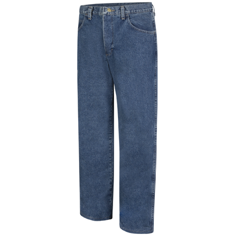 Jean, Loose Fit Stone Washed Denim - EXCEL FR
