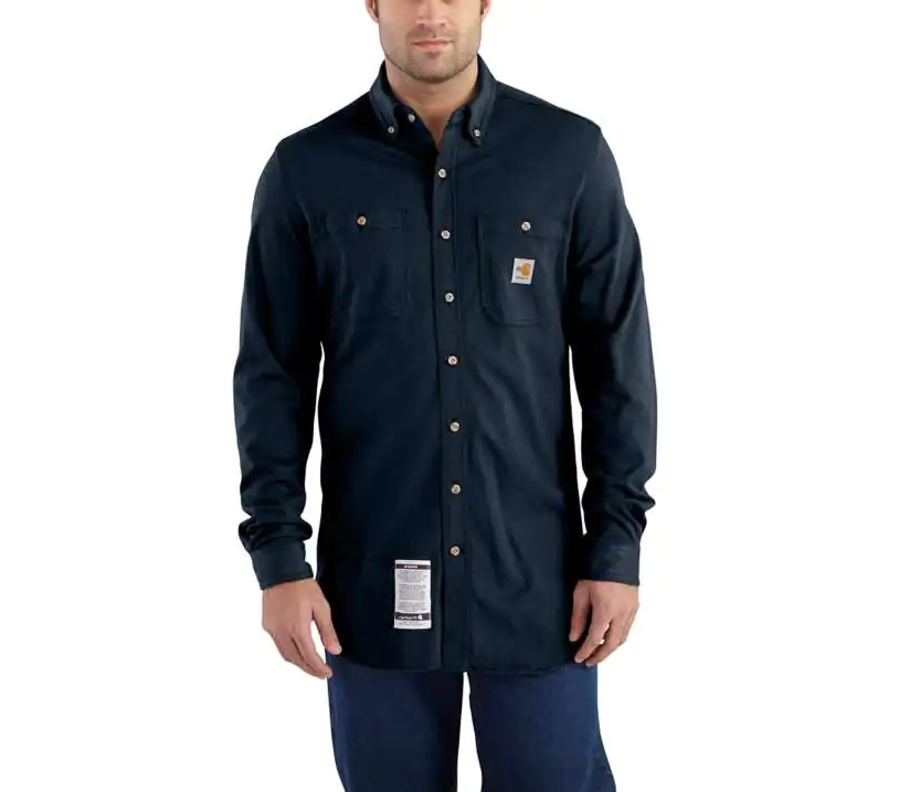 Shirt, FR Core 6.75oz, Carhartt, Cotton Hybrid, 101698