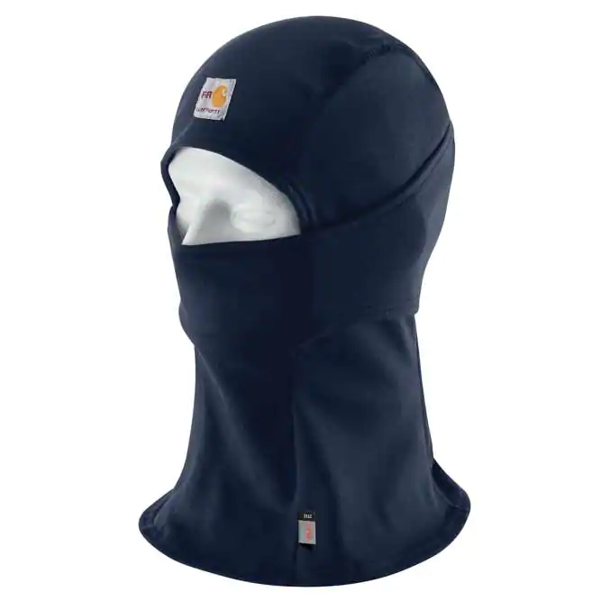Head Covering, FastDry 6.75oz  FORCE® BALACLAVA, Carhartt, Navy #103520