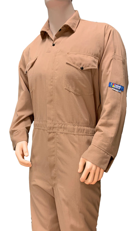 Coverall, Deluxe, FR Tecasafe One, 5.7 oz