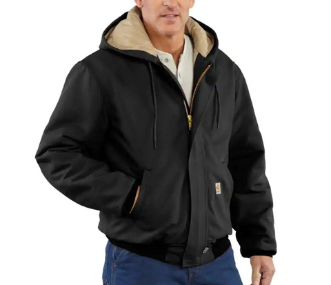 Jacket, Nomex FR Modacrylic batting insulation, 13oz, Carhartt, Duck Active 101621