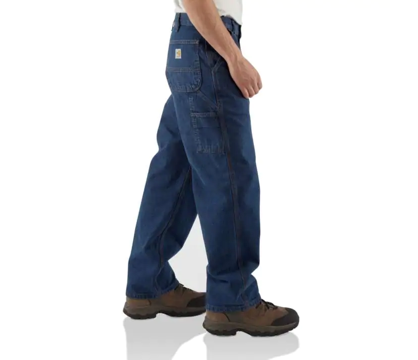 Jeans, Carhartt-FR Denim Dungaree, Working Fitting