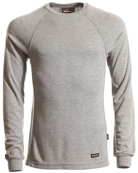 KNIT T-SHIRT LONG-SLEEVE , 6.7 OZ. TECASAFE PLUS