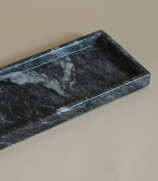 008 ROMBLON VANITY TRAY IN BLACK - MAAARI