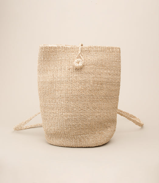ABACA MALINAO BACKPACK / NATURAL