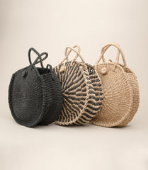 ABACA TICAO BAG / NATURAL - MAAARI