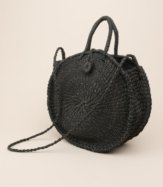 ABACA TICAO BAG / BLACK