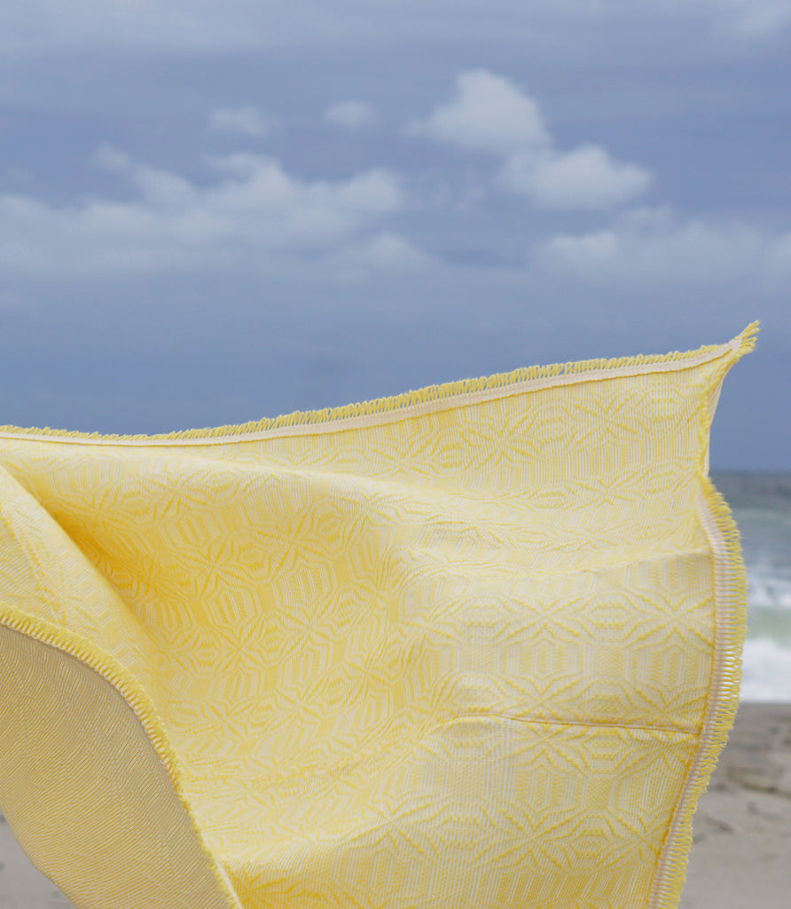 LOCANO SUMMER PRISM BEACH MAT / YELLOW - MAAARI