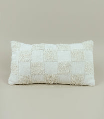 CHECKERED TERRY PILLOW