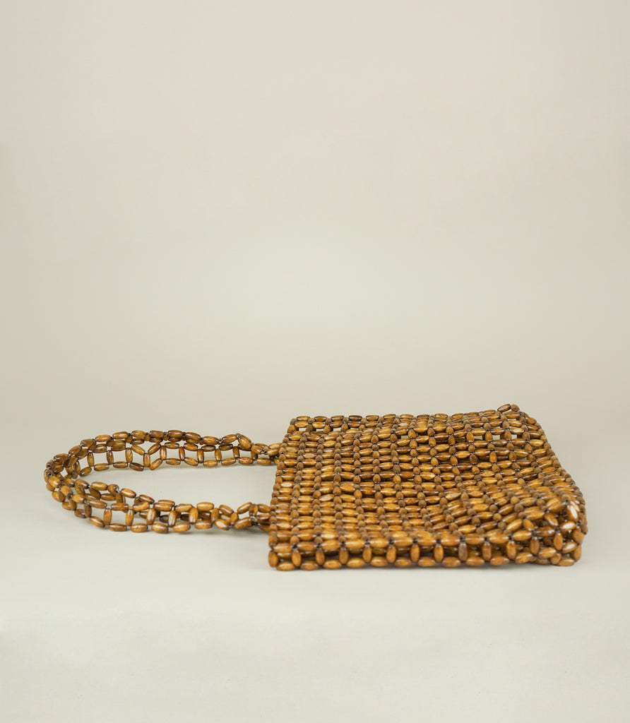 CRUZ WOOD TOTE - MAAARI