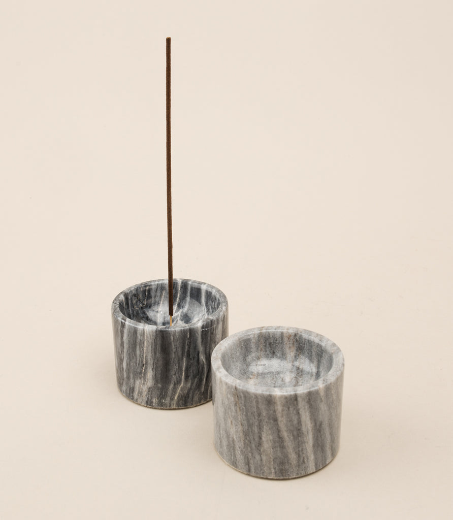 ROOTED / INCENSE HOLDER IN CENTURY BLACK - MAAARI
