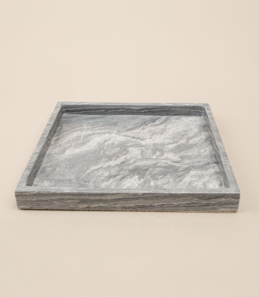 ROMBLON TABLETOP TRAY / GRAY - MAAARI