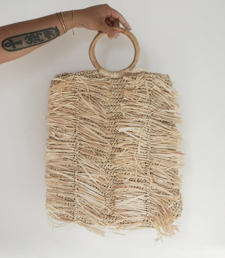 LANA TOTE IN NATURAL - MAAARI