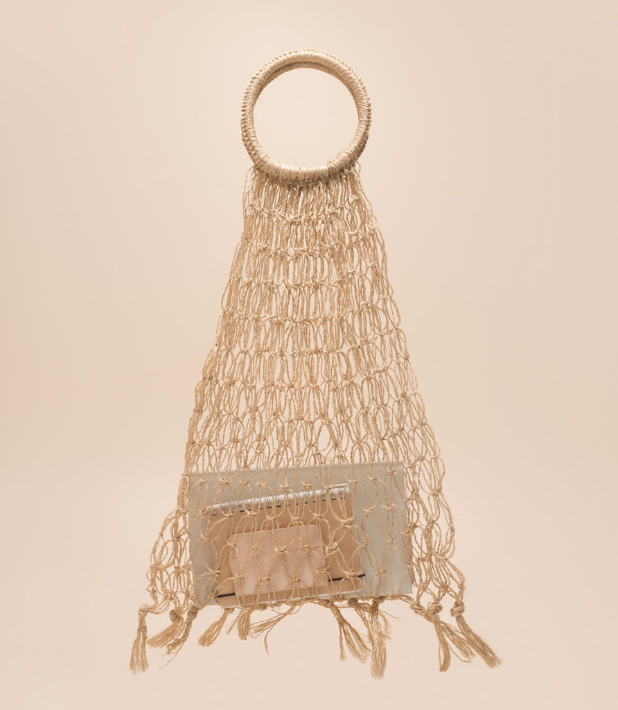MINDANAO NET BAG / NATURAL - MAAARI
