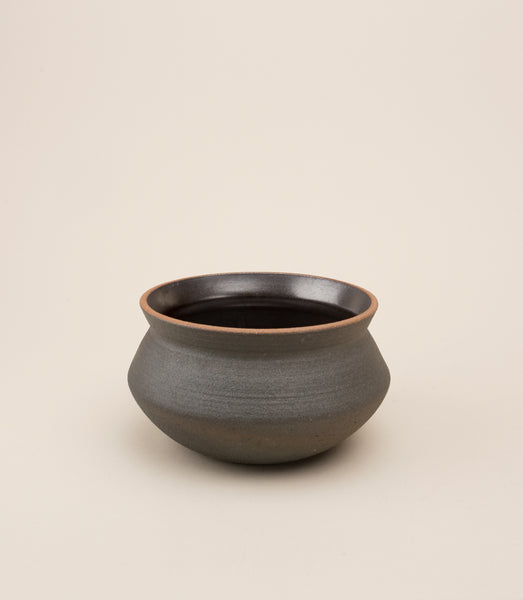 BANGA STACKING PLANTER / SMALL BLACK - MAAARI