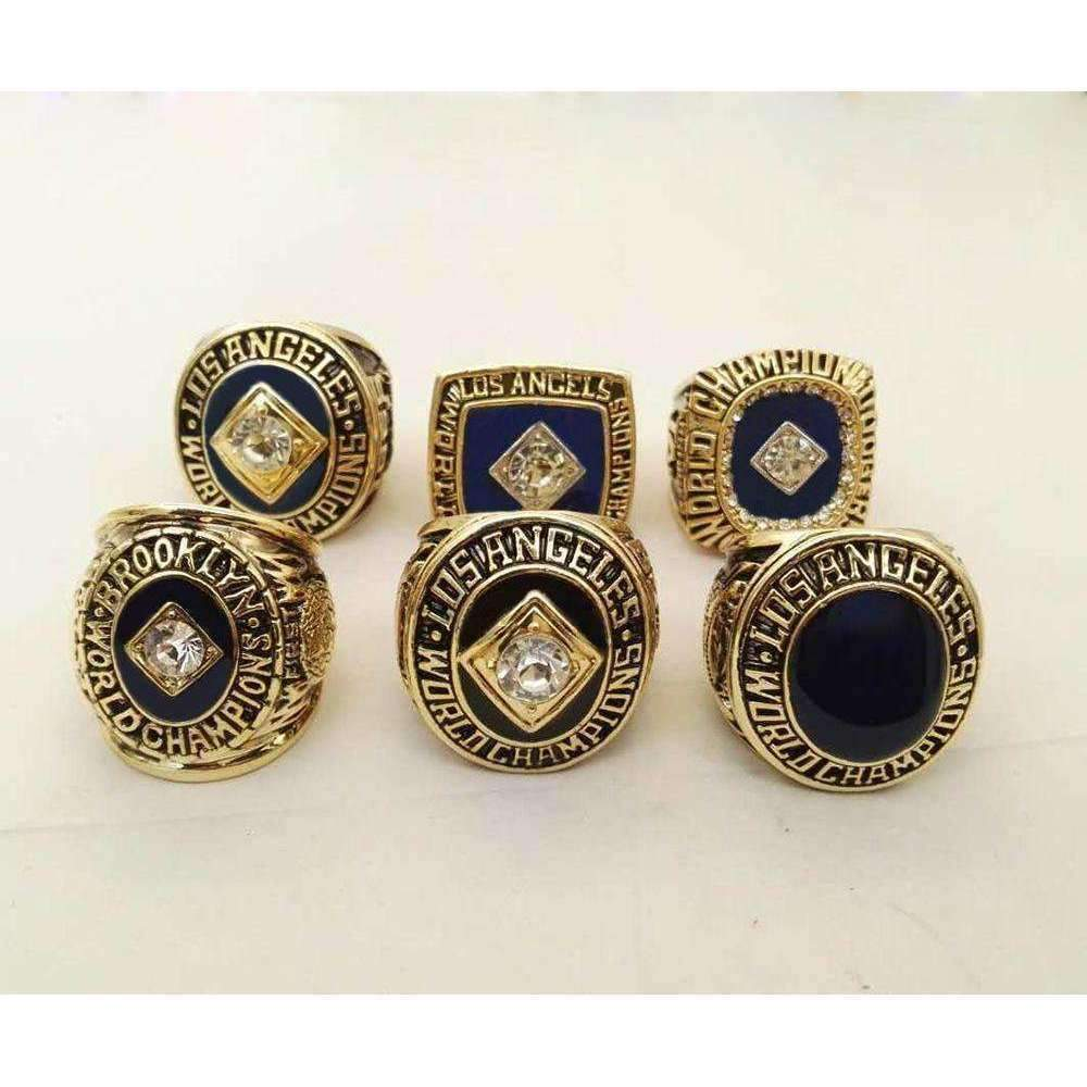 Los angeles dodgers world series championship rings collectors los angeles dodgers world series championship rings collectors set 195519591963 buycottarizona Image collections