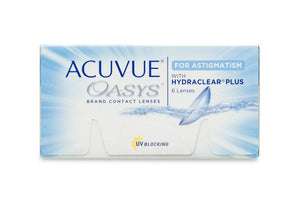 Acuvue Oasys for Astigmatism Monthly (6 Pack)