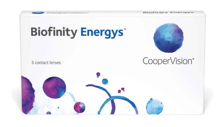 Biofinity Energys Monthly 3 Contact Lenses