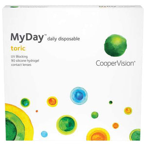 MyDay Daily Disposable Toric 90 Contact Lenses