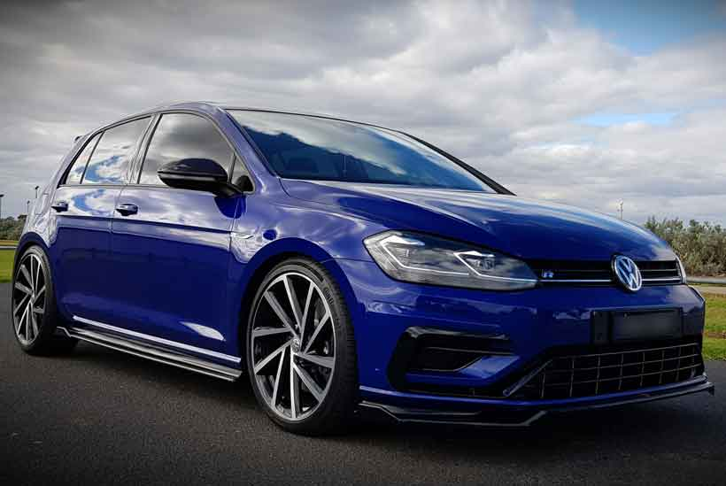 customer car feature 2018 golf r mk 7 5 with full maxton. Black Bedroom Furniture Sets. Home Design Ideas