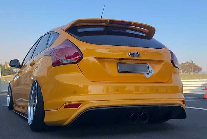 Customer Car Feature: Ford Focus ST With Maxton Side & Rear Diffuser