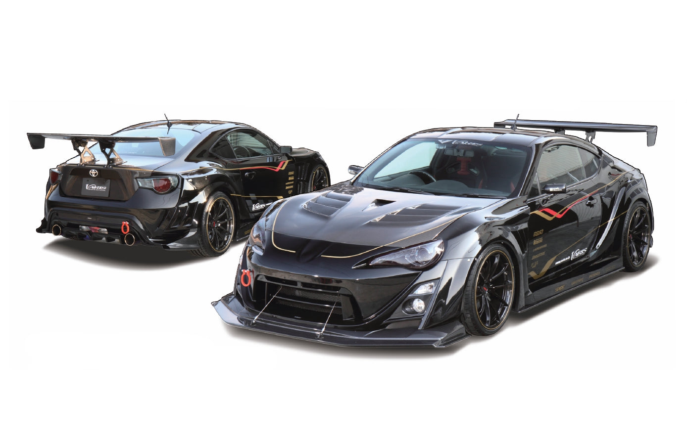 6 Best Body Kits For Subaru BRZ And Toyota 86 Varis Wide Body Kit