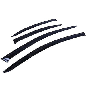 2008 - 2017 Mitsubishi Lancer CJ Ralliart Evo X Window Visors | Weather Shields
