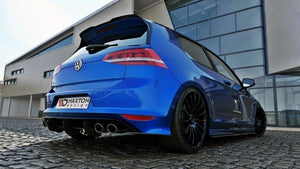 Maxton Design VW Golf Mk7 R (Prefacelift) Hatchback Rear Diffuser & Rear Side Splitters - AusBody Works