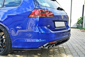 Maxton Design VW Golf Mk7 R Wagon Central Rear Splitter - AusBody Works