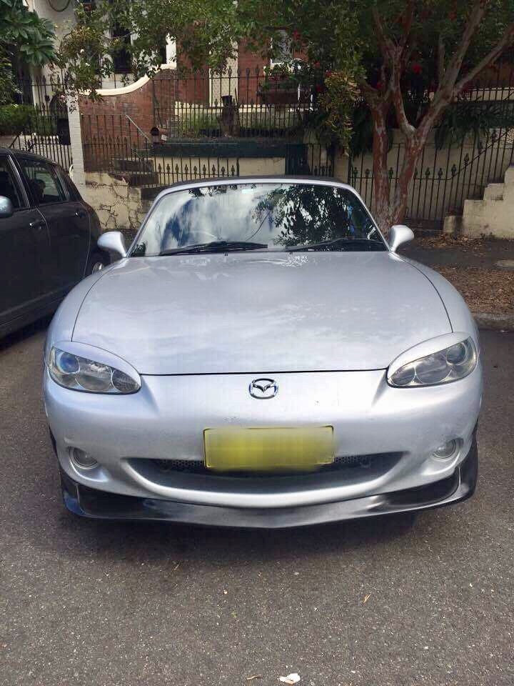 2001-2005 Mazda MX5 NB2 GV Front Lip