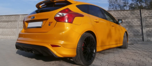 Maxton Design Front Ford Focus Mk 3 ST Rear Diffuser (Prefacelift) - AusBody Works