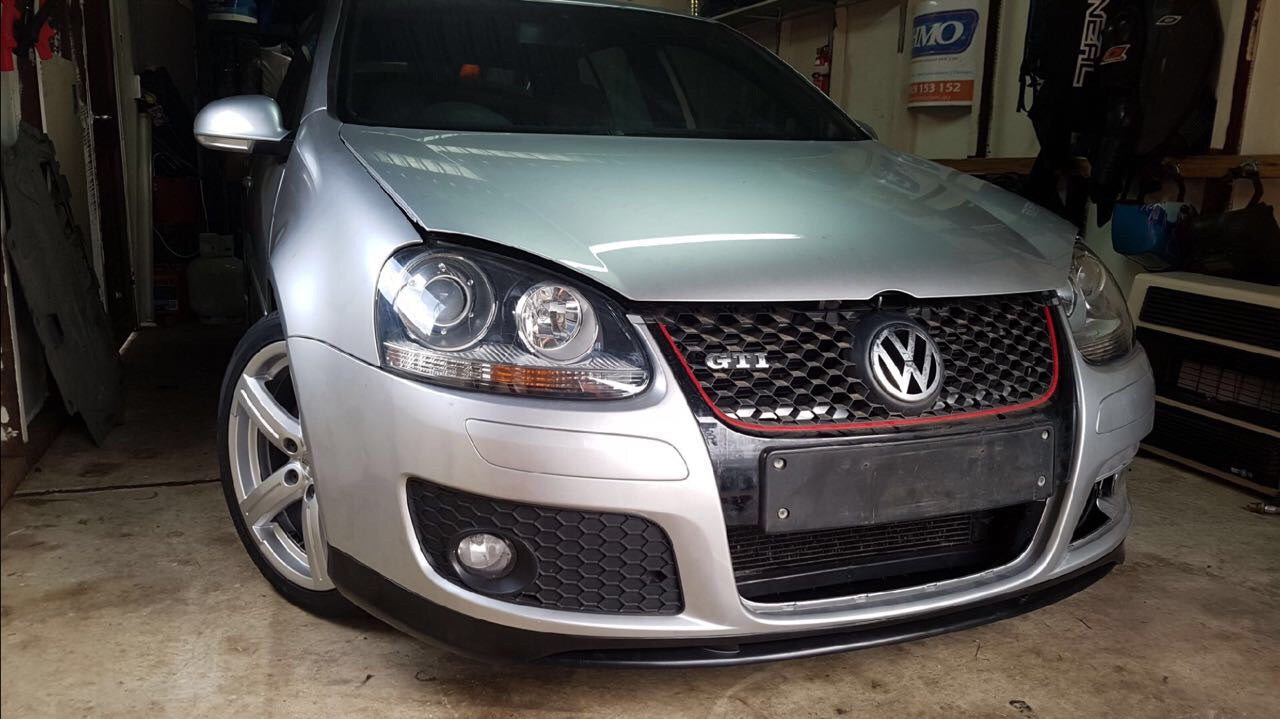 Buy Volkswagen Golf Front Lip 2006 2009 Gti Models Ausbody Works