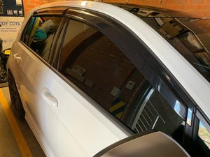 2012-2020 Volkswagen Golf GTI & R Mk7 Mk7.5 All Models Window Visors | Weather Shields - AusBody Works