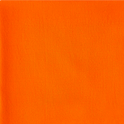 Fine Wool Scarf - Orange
