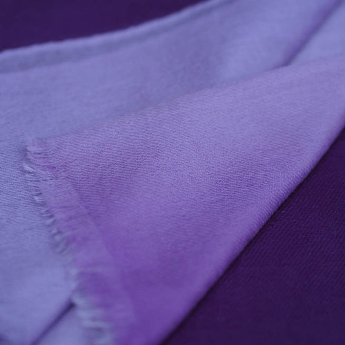 Fine Wool Scarf - Purple & Lilac