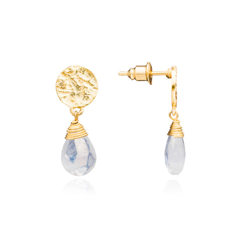 Kate Moonstone Earrings