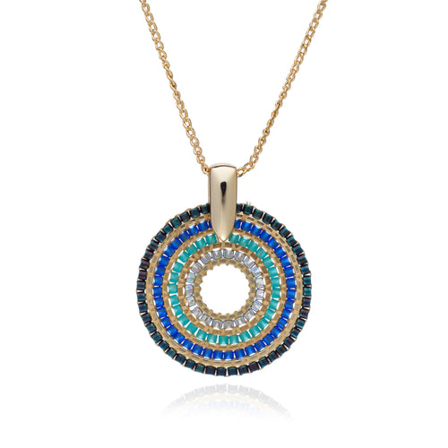 Toluca Pendant Necklace - Marine