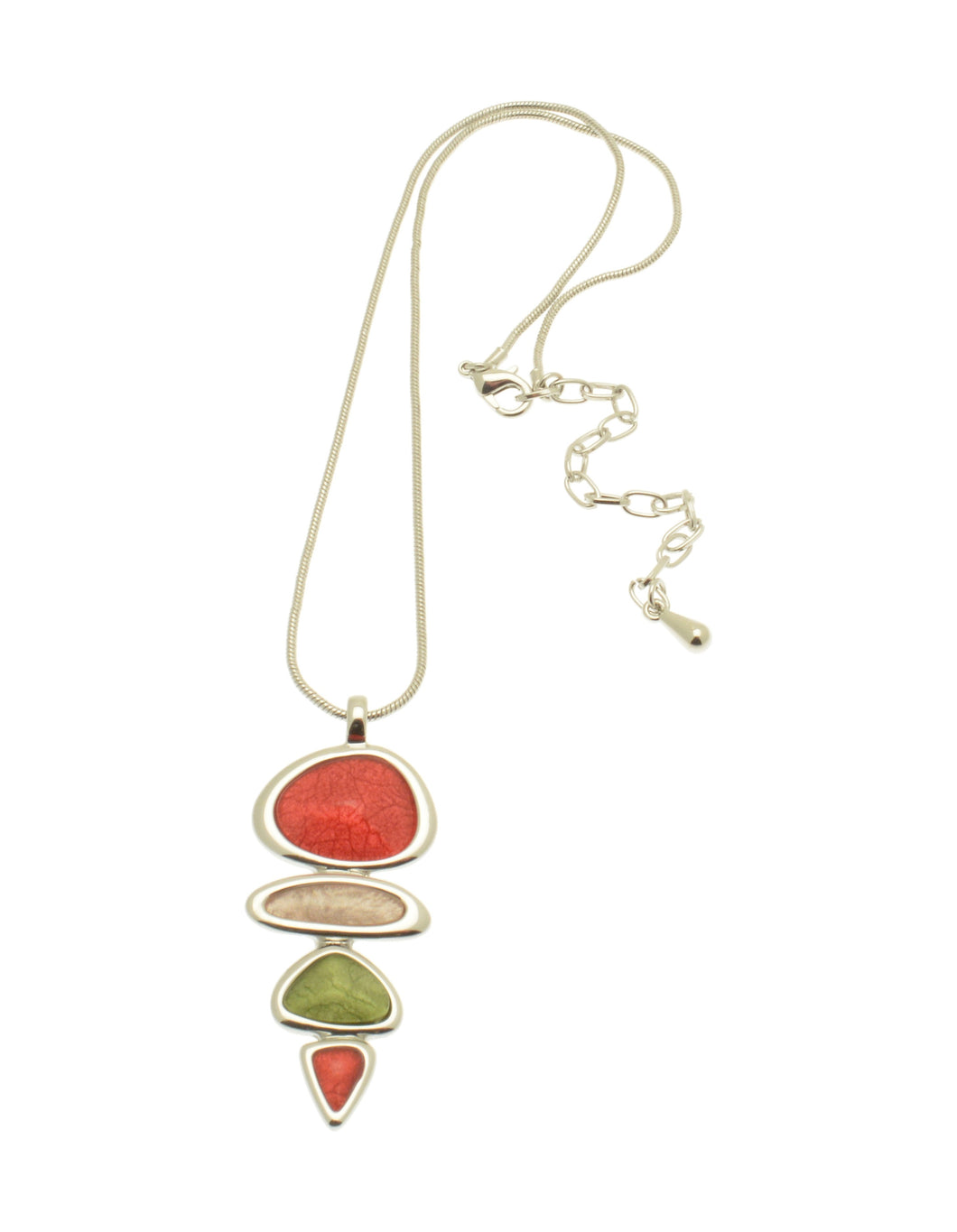 Ariana Coral Dangle Necklace