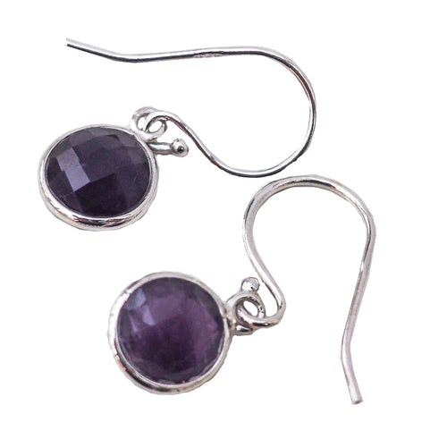 Earrings - Amethyst