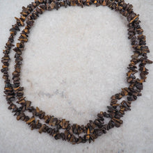 Necklace - Tigers Eye Chips (Brown)
