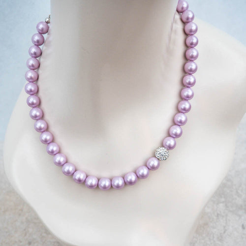 Necklace - Lilac Shell Pearl